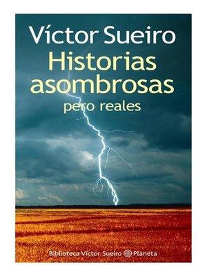 cover image of Historias asombrosas