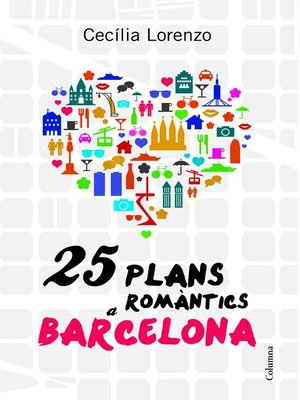 cover image of 25 plans romàntics a Barcelona