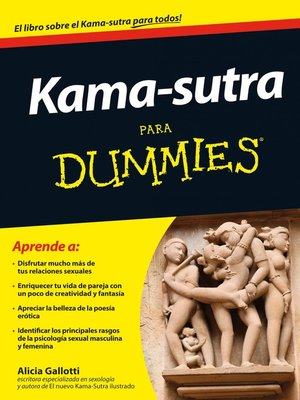 cover image of Kama-sutra para Dummies