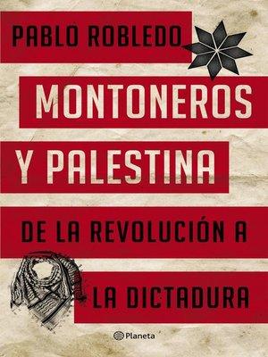 cover image of Montoneros y Palestina