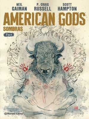 cover image of American Gods Sombras nº 07/09