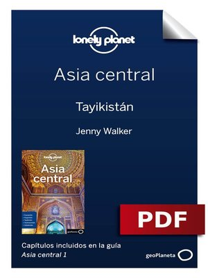 cover image of Asia central 1_3. Tayikistán