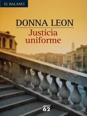 cover image of Justícia uniforme