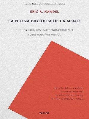cover image of La nueva biología de la mente