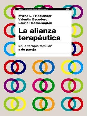 cover image of La alianza terapéutica