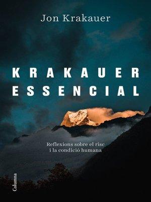 cover image of Krakauer essencial