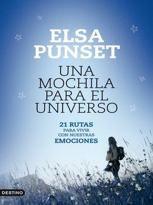 cover image of Una mochila para el universo