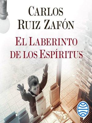 cover image of El Laberinto de los Espíritus