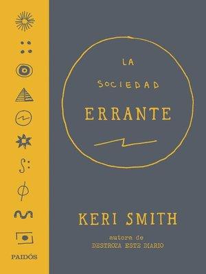 cover image of La Sociedad Errante