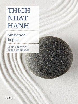 cover image of Sintiendo la paz