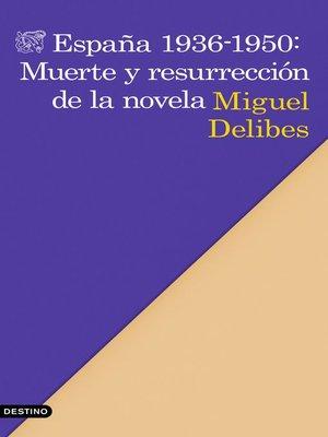 cover image of España 1936-1950