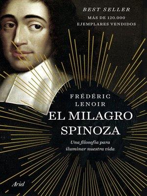 cover image of El milagro Spinoza