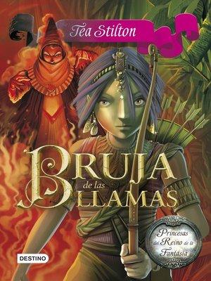 cover image of Bruja de las llamas