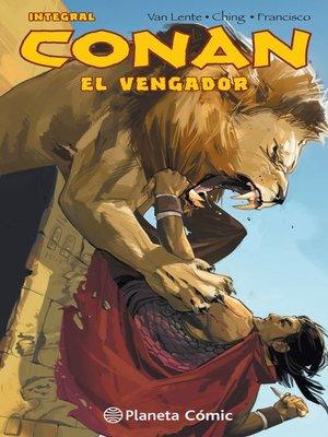 cover image of Conan El vengador (integral)