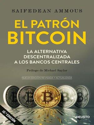 cover image of El patrón Bitcoin