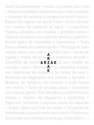 cover image of Arzak