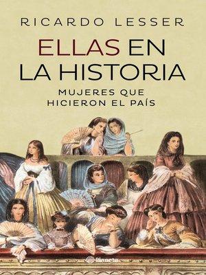 cover image of Ellas en la historia