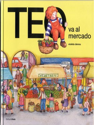 cover image of Teo va al mercado