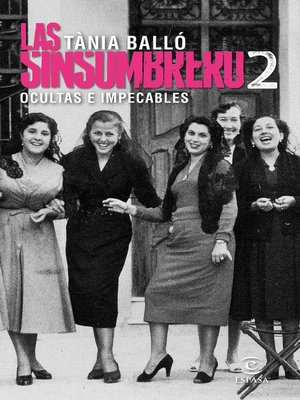 cover image of Las sinsombrero 2. Ocultas e impecables