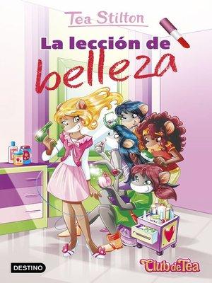 cover image of La lección de belleza