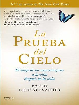 cover image of La prueba del cielo