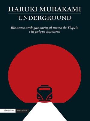cover image of Underground (Edició en català)
