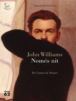 cover image of Només nit