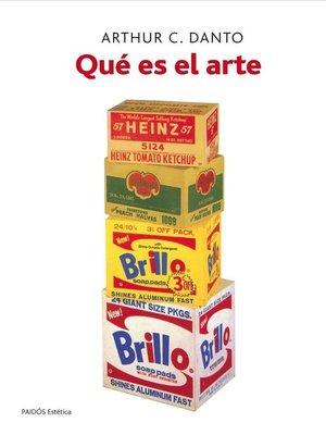 cover image of Qué es el arte
