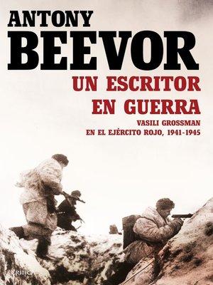 cover image of Un escritor en guerra