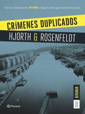cover image of Crímenes duplicados