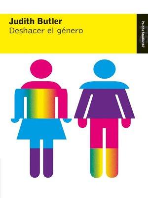 cover image of Deshacer el género