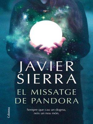 cover image of El missatge de Pandora