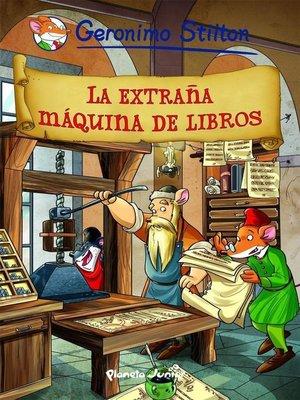 cover image of La extraña máquina de libros