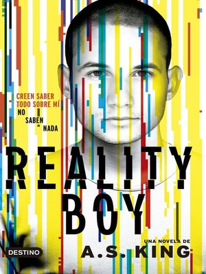 cover image of Reality boy