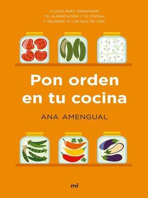 cover image of Pon orden en tu cocina
