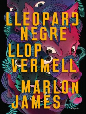 cover image of Lleopard negre, llop vermell
