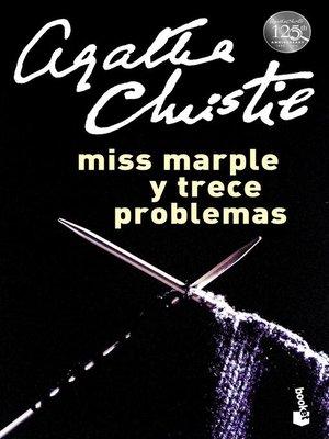 cover image of Miss Marple y trece problemas