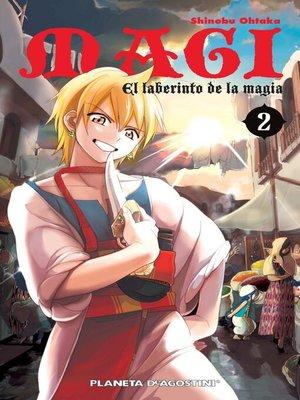 cover image of Magi El laberinto de la magia nº 02/37