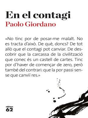 cover image of En el contagi