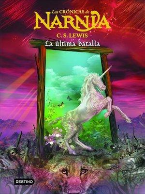 cover image of La última batalla