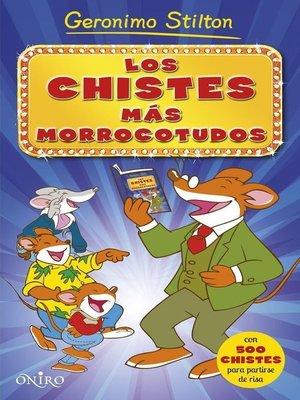 cover image of Los chistes más morrocotudos