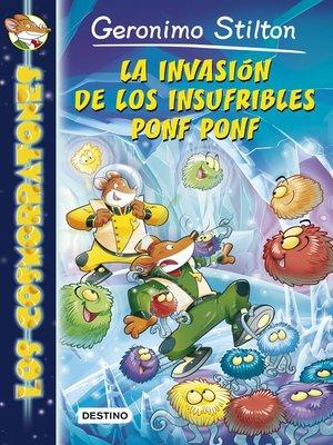 cover image of La invasión de los insufribles Ponf Ponf