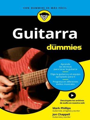cover image of Guitarra para Dummies