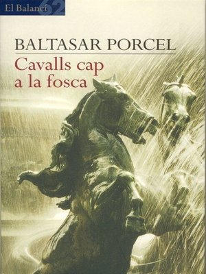 cover image of Cavalls cap a la fosca