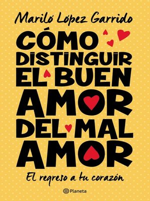 cover image of Cómo distinguir el buen amor del mal amor