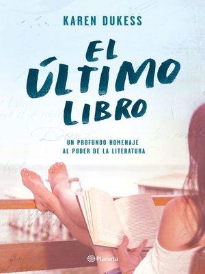 cover image of El último libro