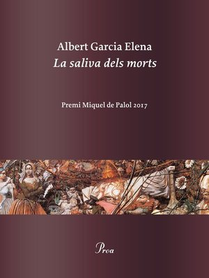 cover image of La saliva dels morts