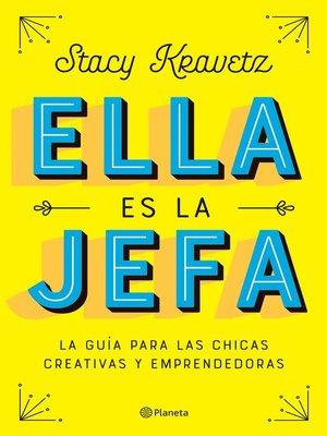 cover image of Ella es la jefa