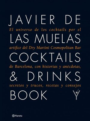 cover image of Cocktails & Drinks Book