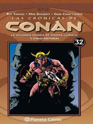 cover image of Las crónicas de Conan nº 32/34